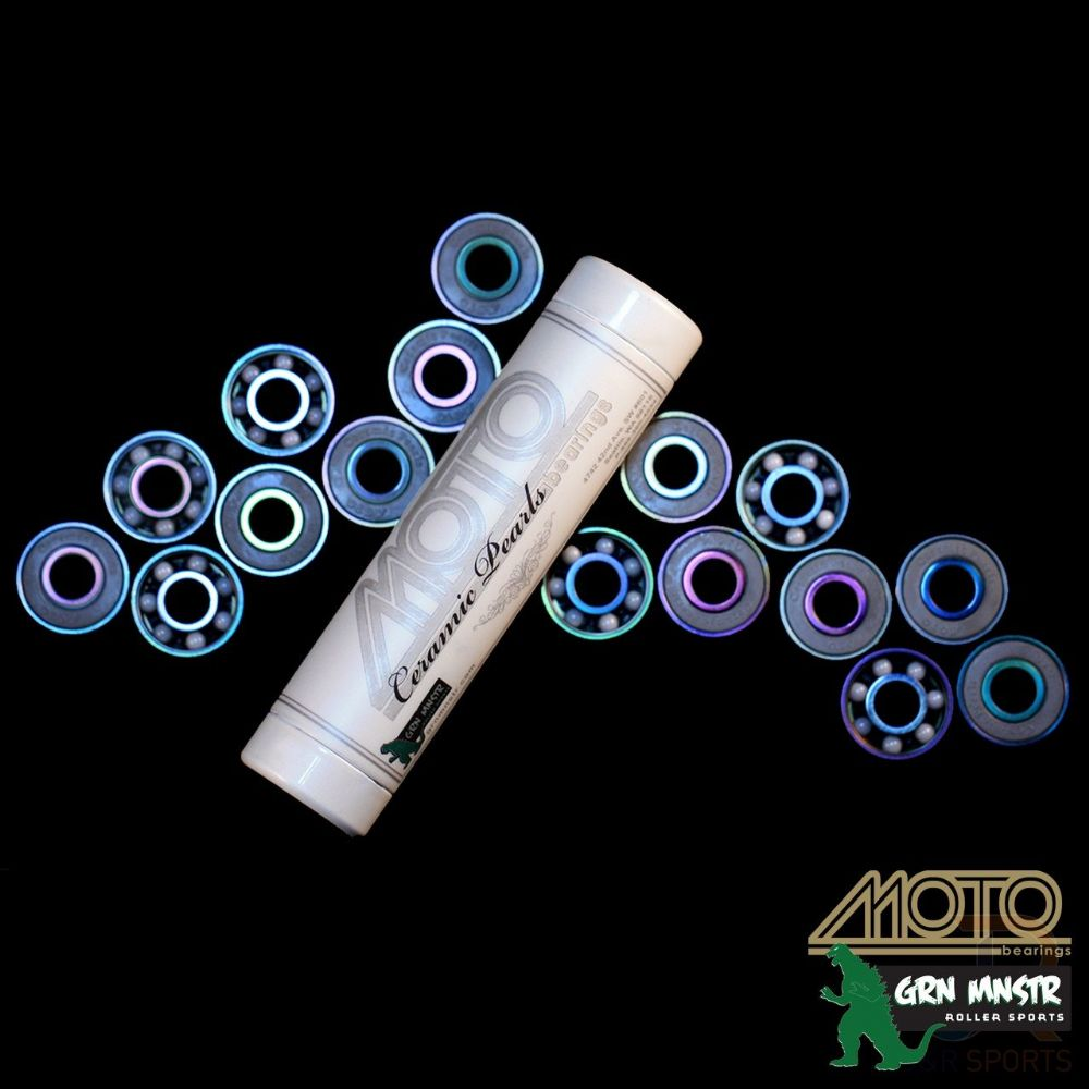 Moto Ceramic Pear Bearings- set 16
